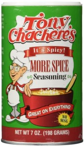Tony Chachere's Creole Seasoning