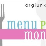 Menu Monday ~ July 23, 2012