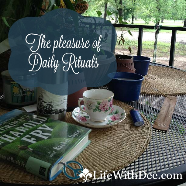 The Pleasure of Daily Rituals