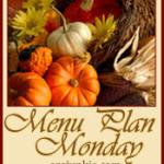 Menu Monday ~ November 26, 2012