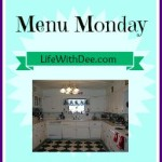 Menu Monday ~ September 14, 2015