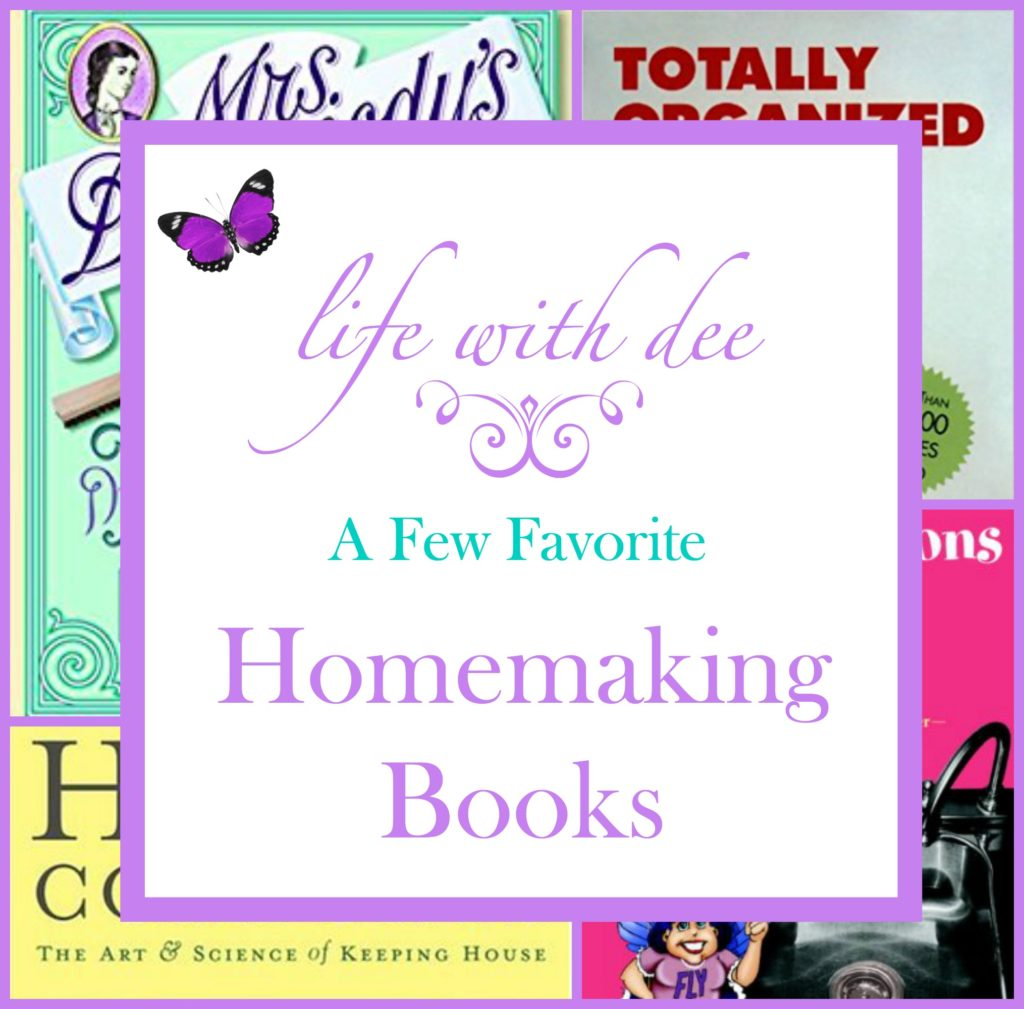 LWD Favorite Homemaking Books
