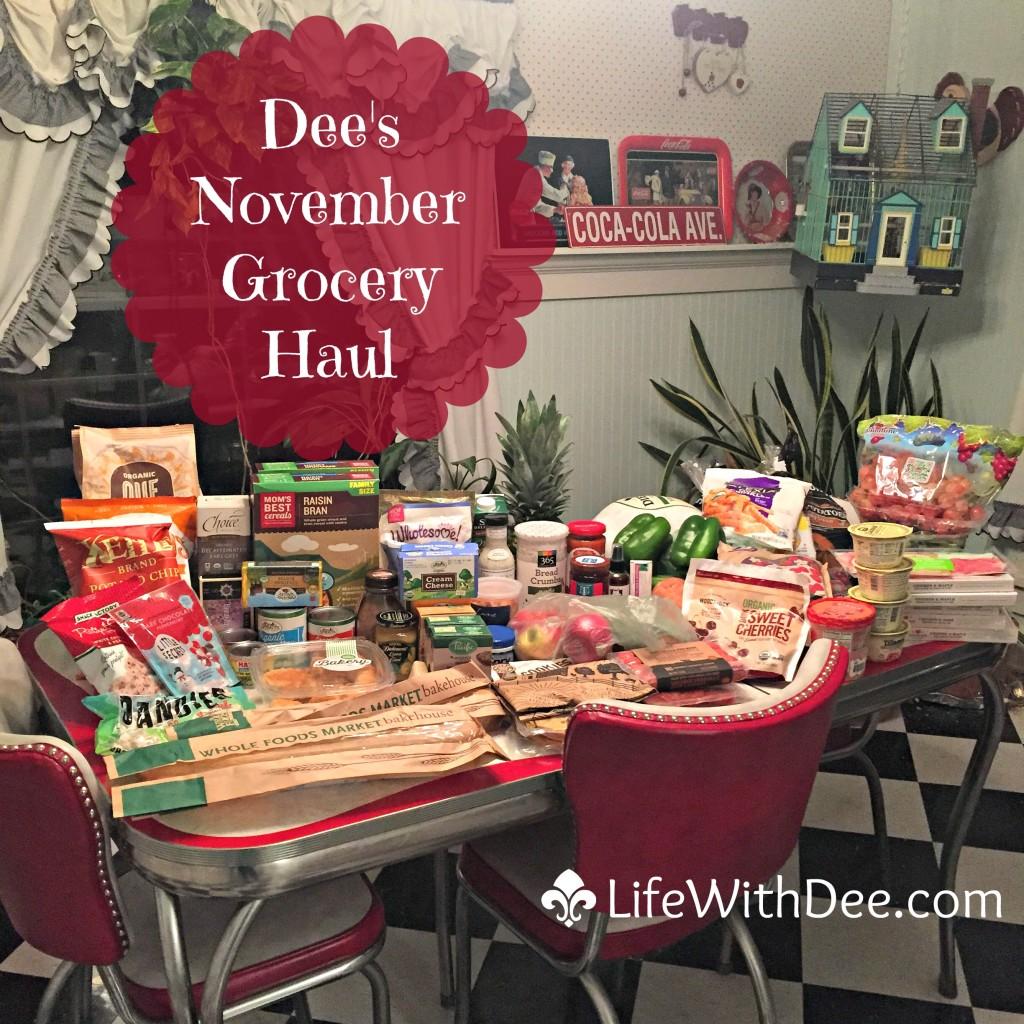 November Grocery Haul