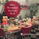 Grocery Haul – November 2015