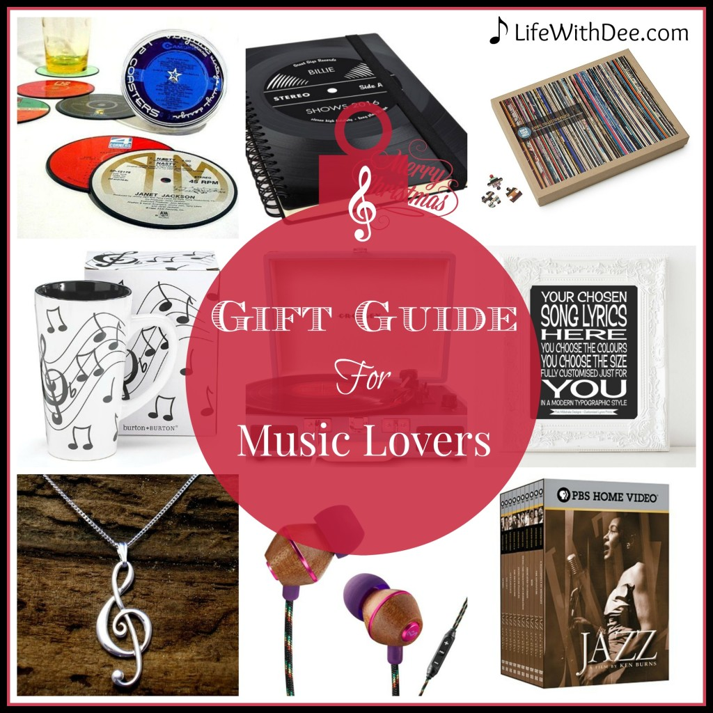 Gift Guide for Music Lovers