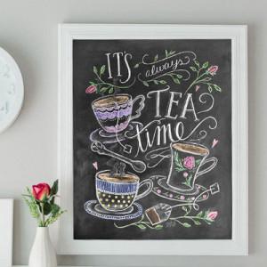 Gift - Tea Print