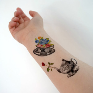 Gift - tea tattoos