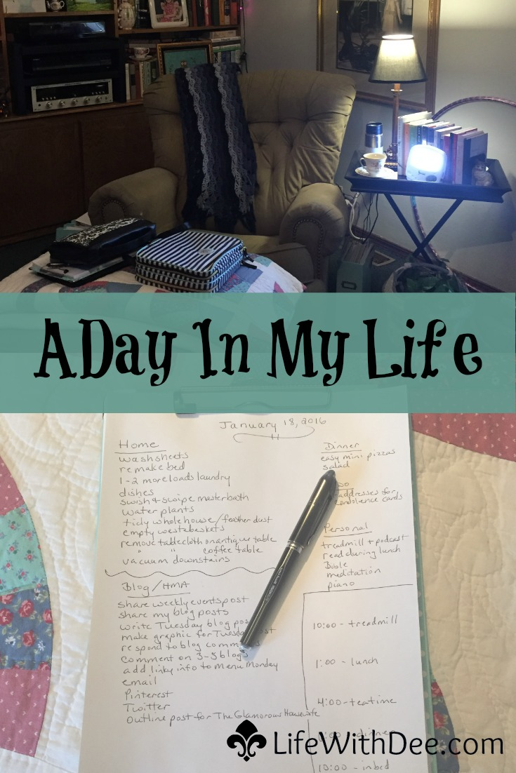 A Day in My Life - January 2016