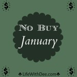 """No Buy January"" ~ Update"