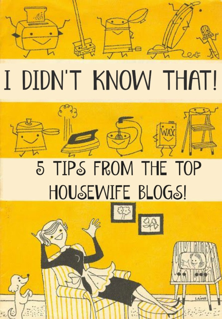 Best Tips From Housewife Blogs