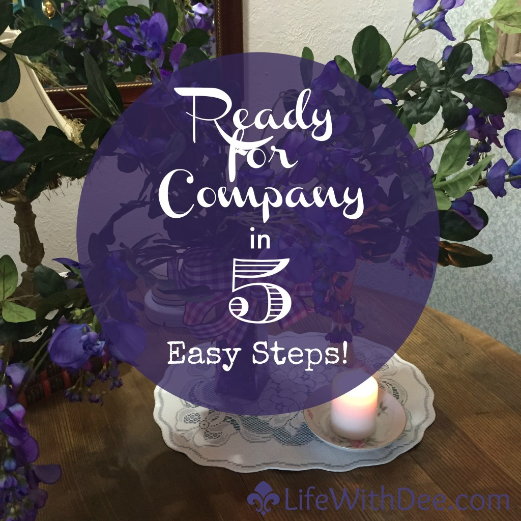 Company Ready in 5 Easy Steps