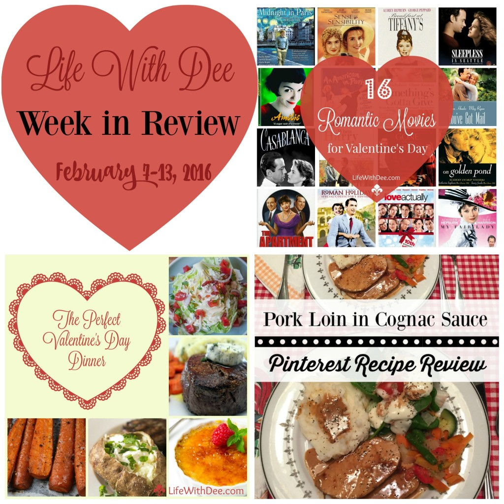 Week in Review ~ 2/13/16