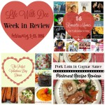 Dee's Week in Review ~ February 13, 2016