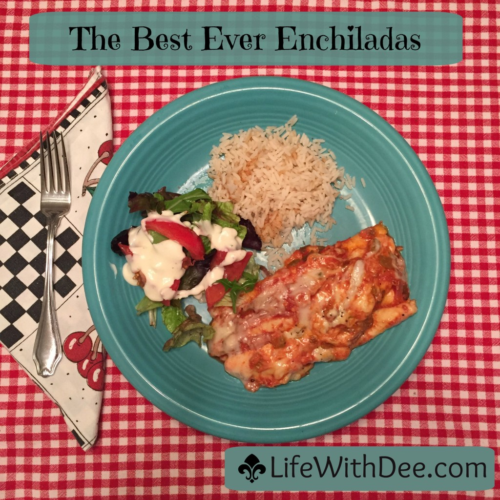 Best Ever Enchiladas