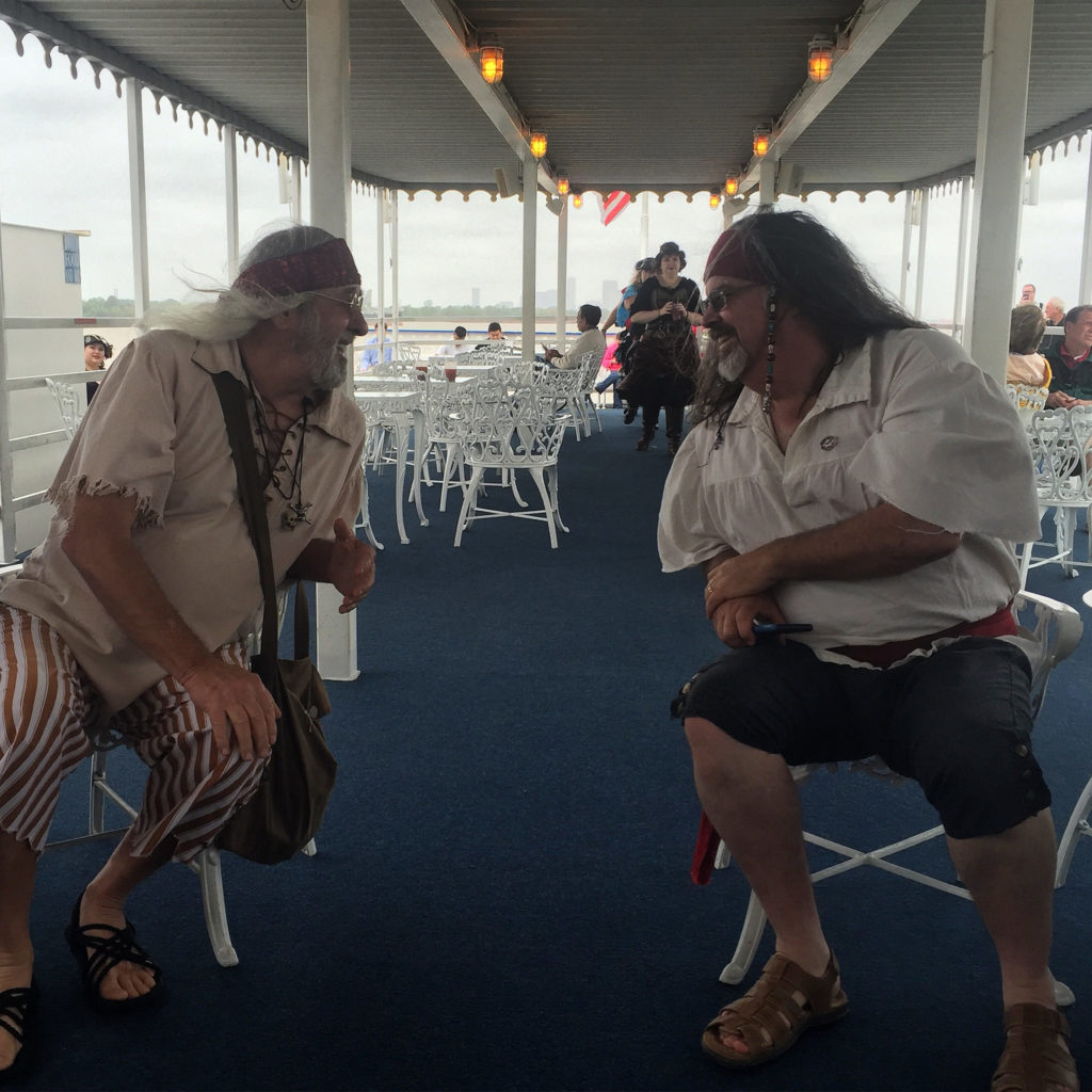 Pirates on the Creole Queen