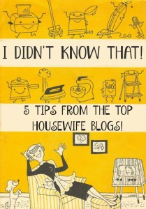 5 Fantastic Housewife Tips