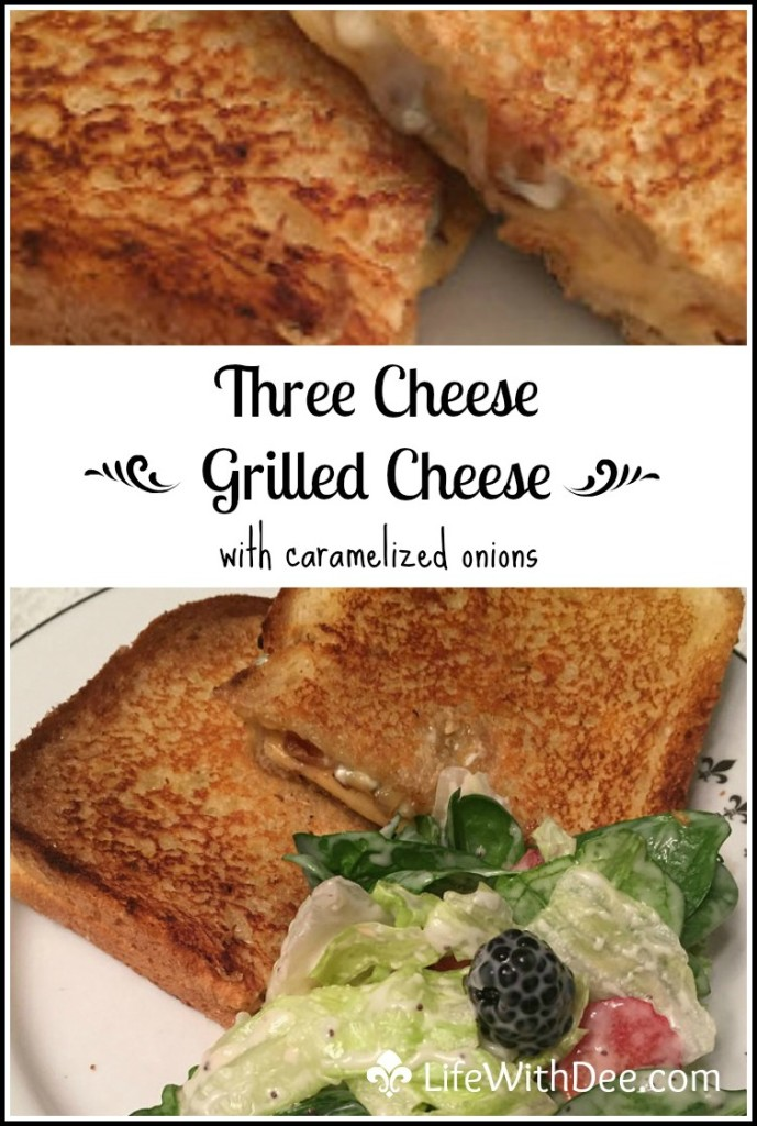 Three Cheese Grilled Cheese