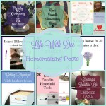 Dee's Homemaking Posts ~ All in One Place!
