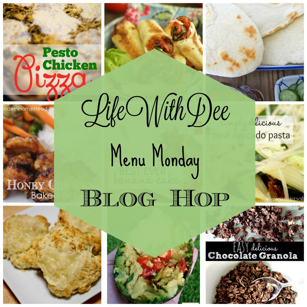 Menu Monday Blog Hop