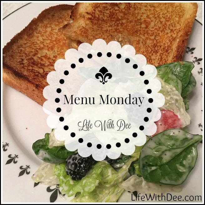 Menu Monday ~ May 9, 2016