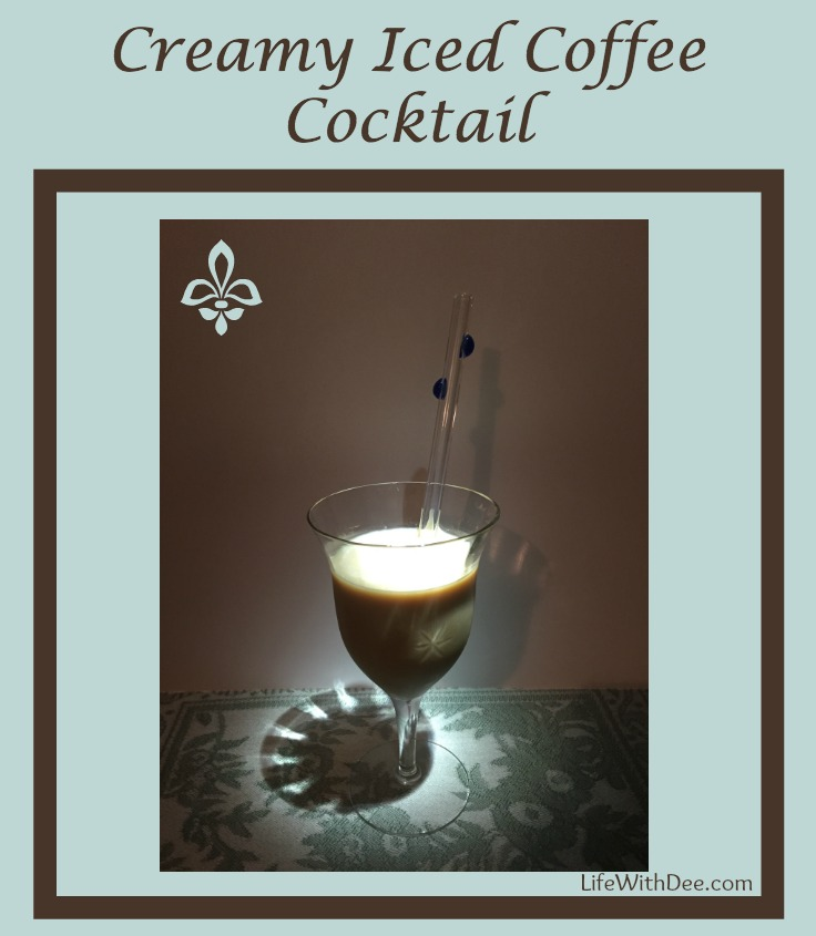 Creamy Iced Coffee Cocktail