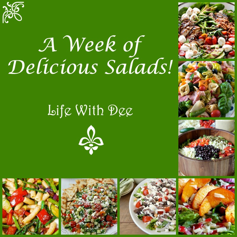 A Week of Salad Recipes