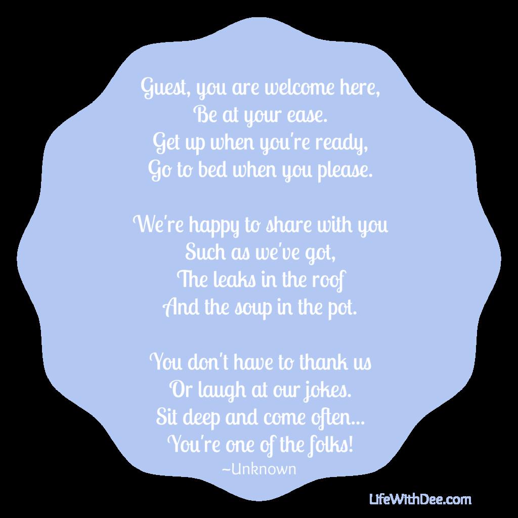 Guest poem