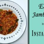 Easy Jambalaya in the Instant Pot