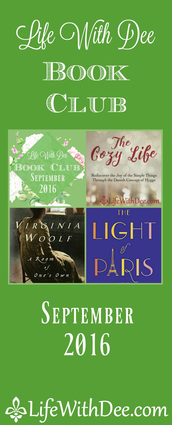 Join the LWD book club and check out the September picks!