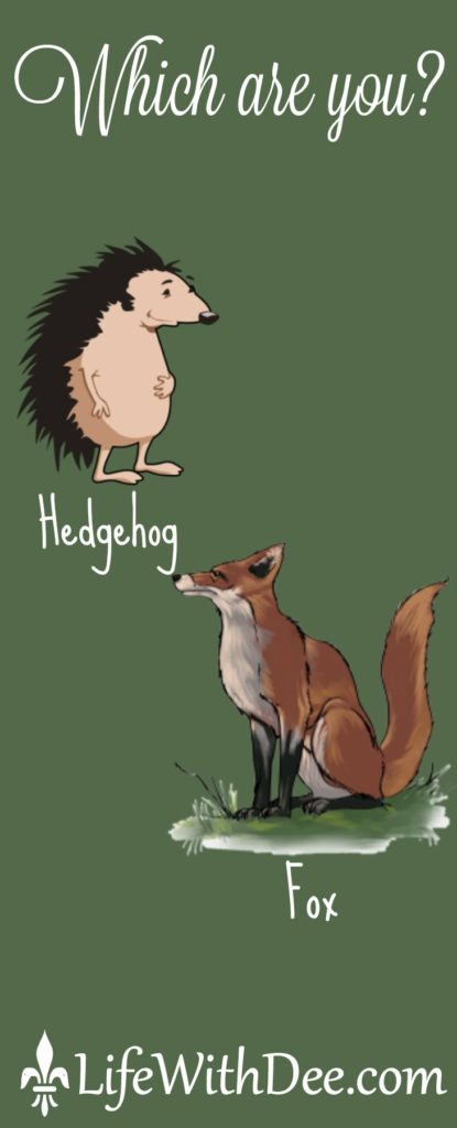 Hedgehog or Fox