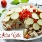 Layered Salad Cake ~ A Guest Post Recipe