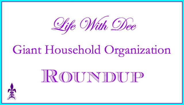 Household Organization Roundup