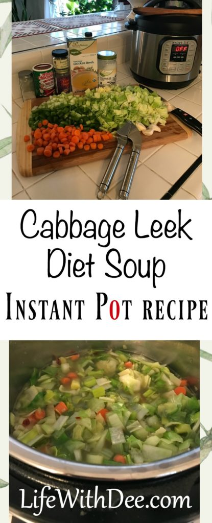 Cabbage Leek Diet Soup