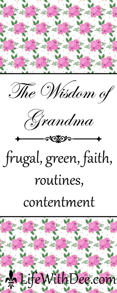 The Wisdom of Grandma
