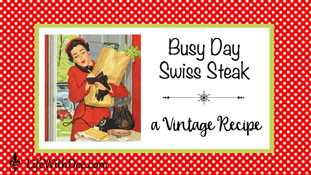 Busy Day Swiss Steak