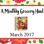 Grocery Haul ~ March 2017