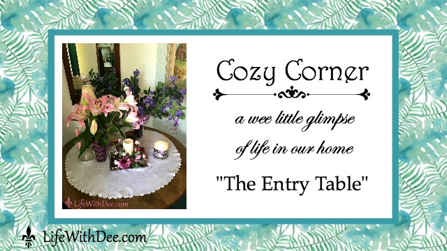 Cozy Corner - Entry Table