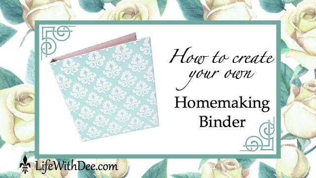 Homemaking Binder