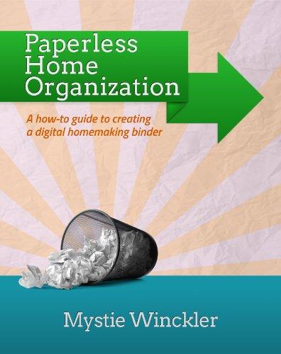 Paperless Home Organization Binder