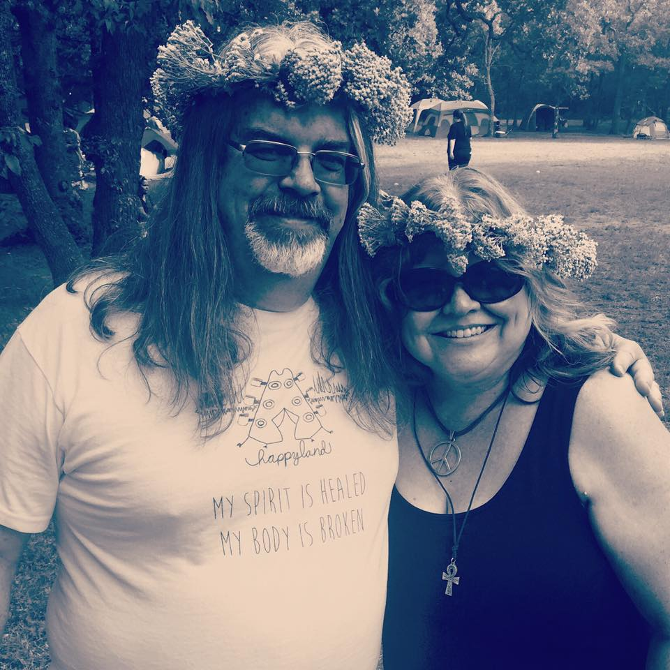 A couple of hippies