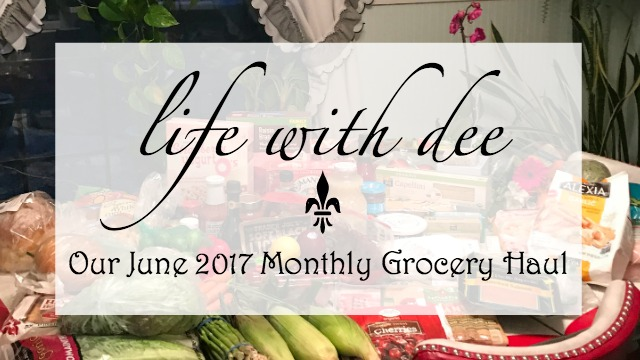 Grocery Haul ~ June 2017