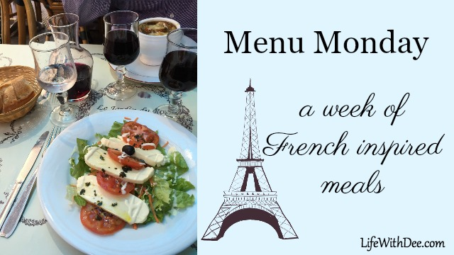 Menu Monday French Meals