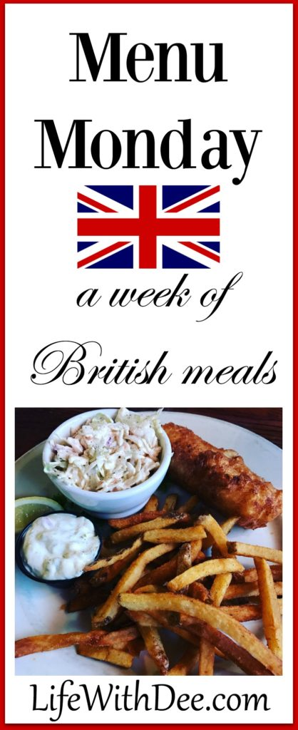 Menu Monday ~ British