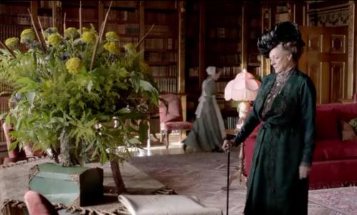 Downton Abbey ~ fresh flowers