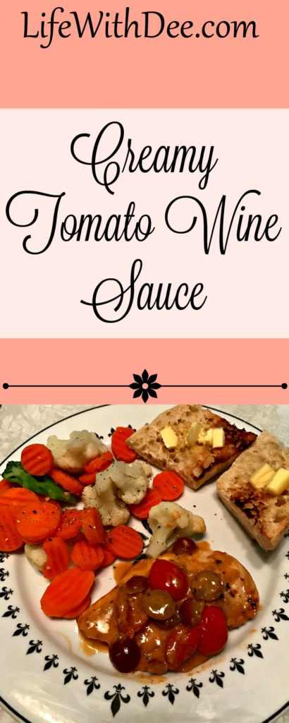 Creamy Tomato Wine Sauce