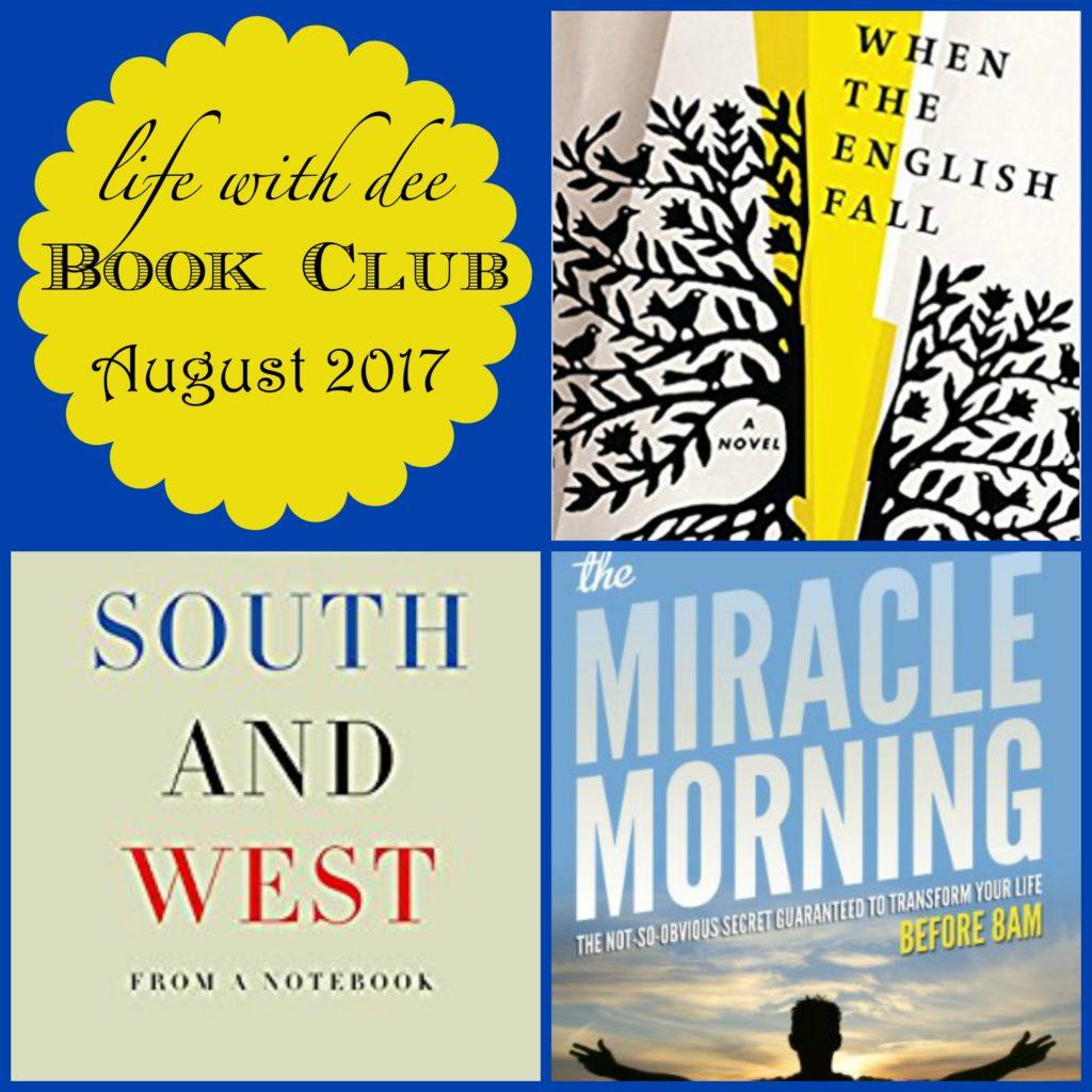 LWD Book Club August 2017