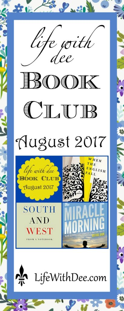 LWD Book Club Aug. 2017