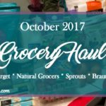 A Monthly Grocery Haul ~ October 2017