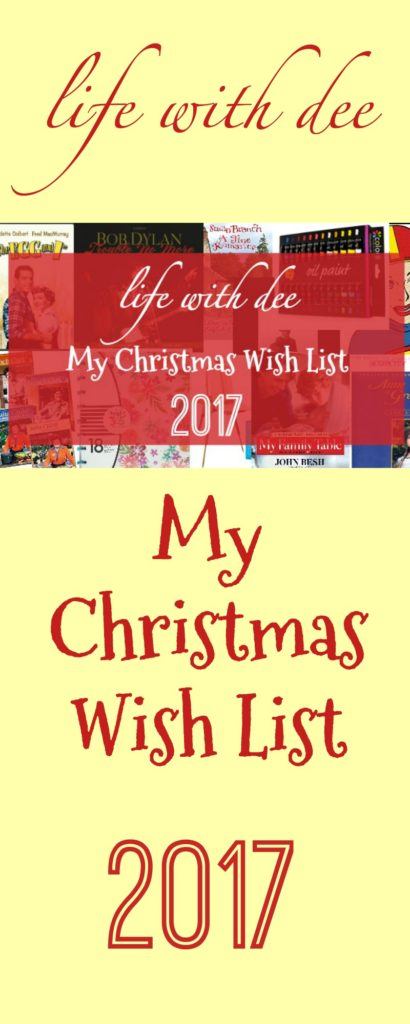 2017 Christmas Wish List