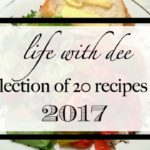 LWD 2017 Recipes ~ A Collection of 20 Delicious Dishes